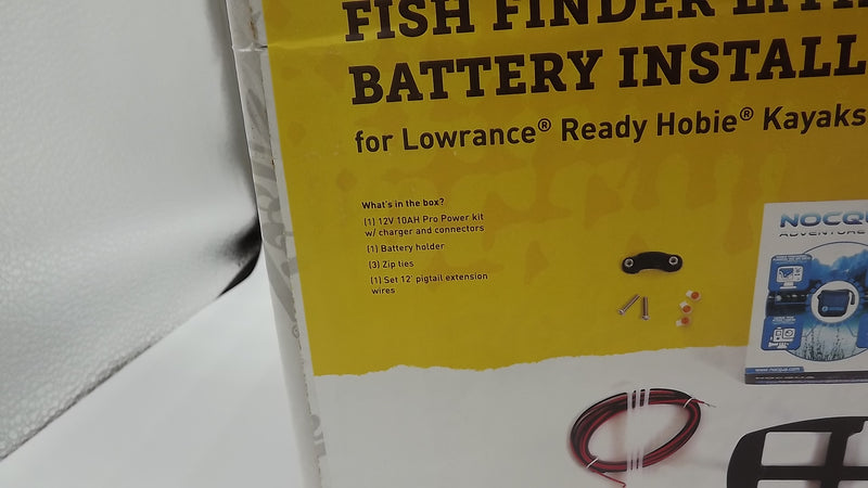 Hobie Fishfinder Kit Lowrance Ready with Lithium Power