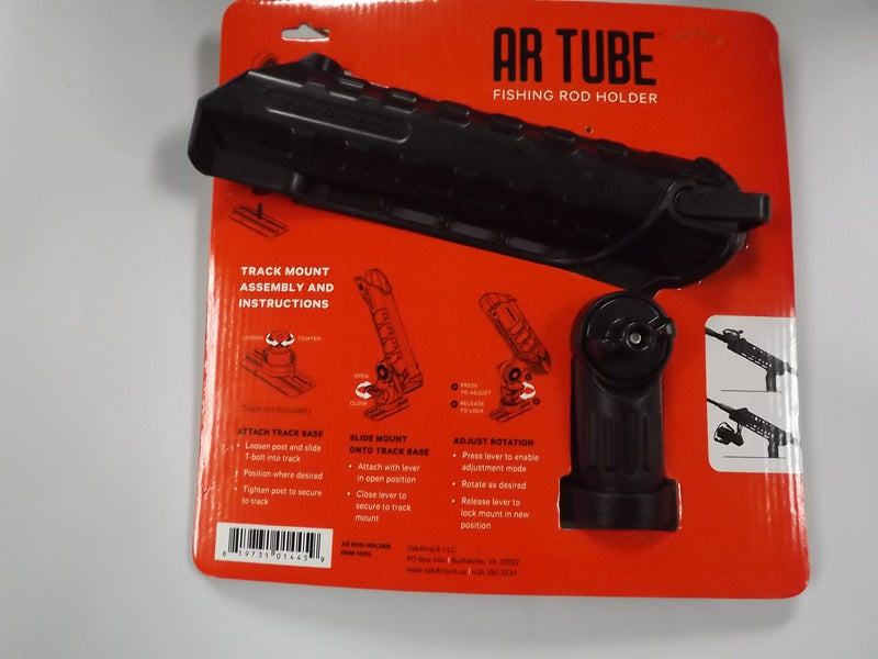 YakAttack AR Tube Fishing Rod Holder (Track Mount Included)