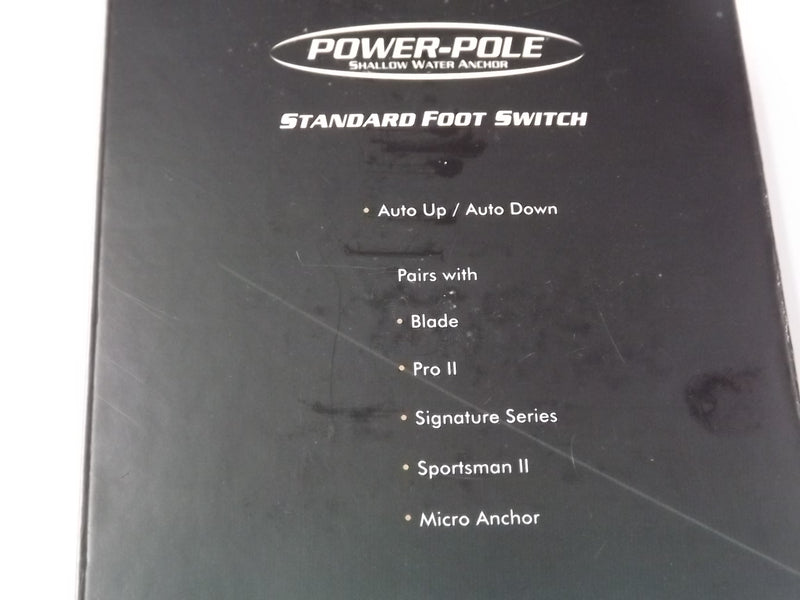 Power-Pole Shallow Water Anchor Standard Foot Switch