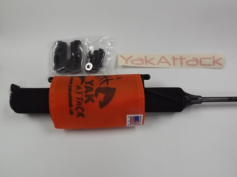 YakAttack Visipole II & Flag w/Mighty Mount, Item