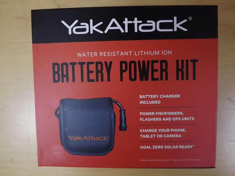 YakAttack Water Resistant Lithium Ion Batter Power Kit, Item