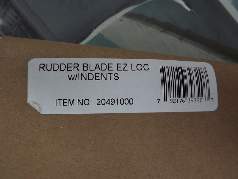 Hobie Cat Rudder Blade for Hobie Wave and Getaway with EZ Lock Rudders, Item