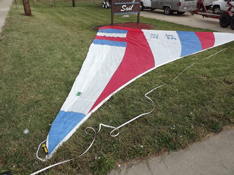 Used Blooper Spinnaker - Red, White & Blue, Sail