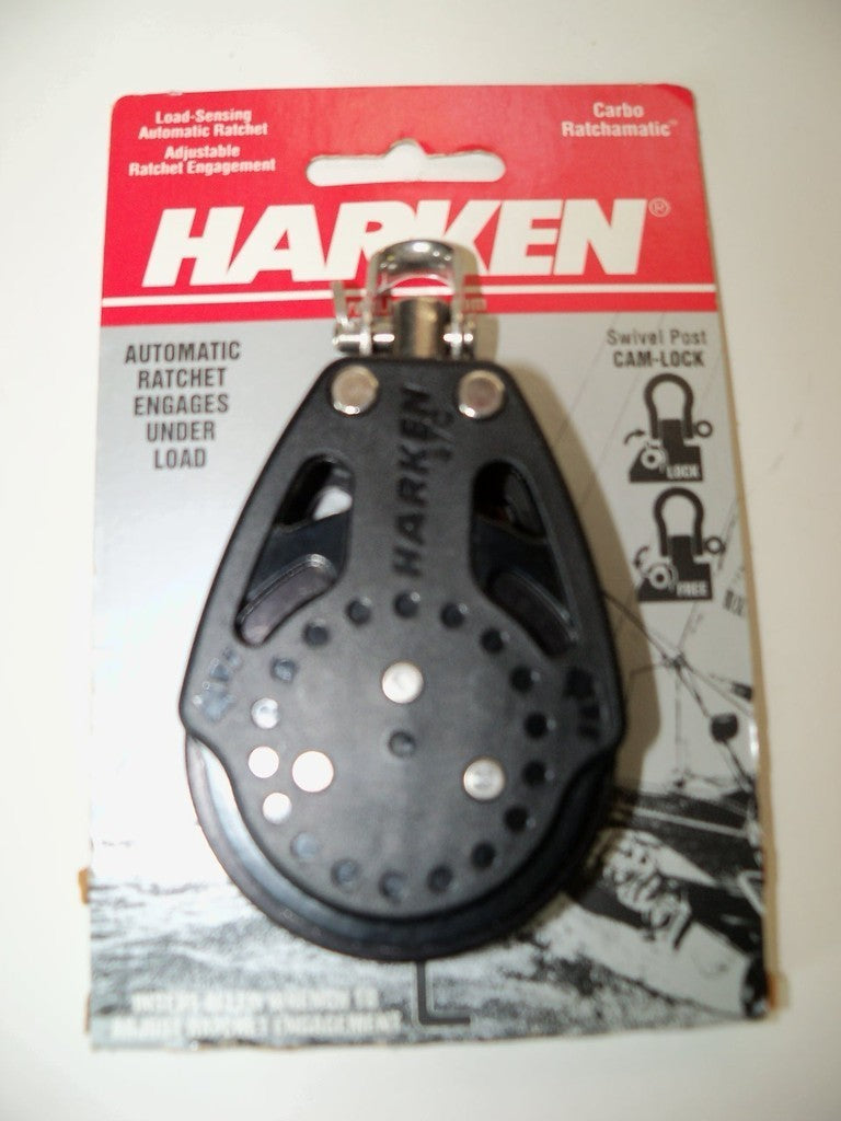 Harken Carbo Ratchamatic Block 57mm