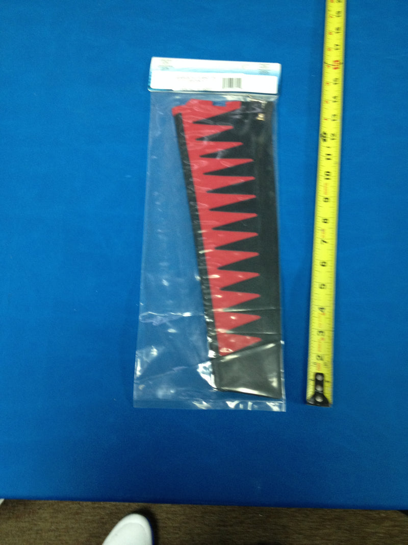 Hobie Cat Mirage ST Turbo Fin Replacement Red and Black part