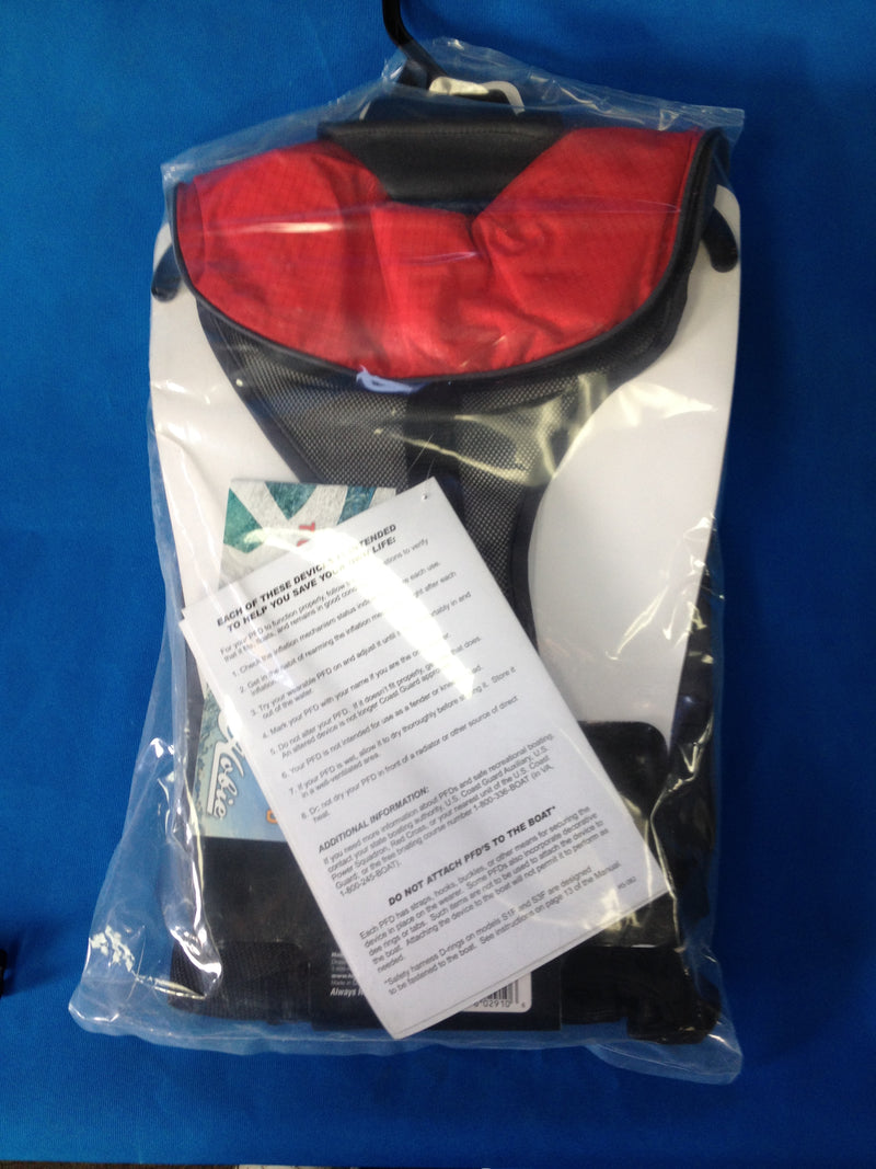 Hobie Cat Inflatable Life Jacket Red