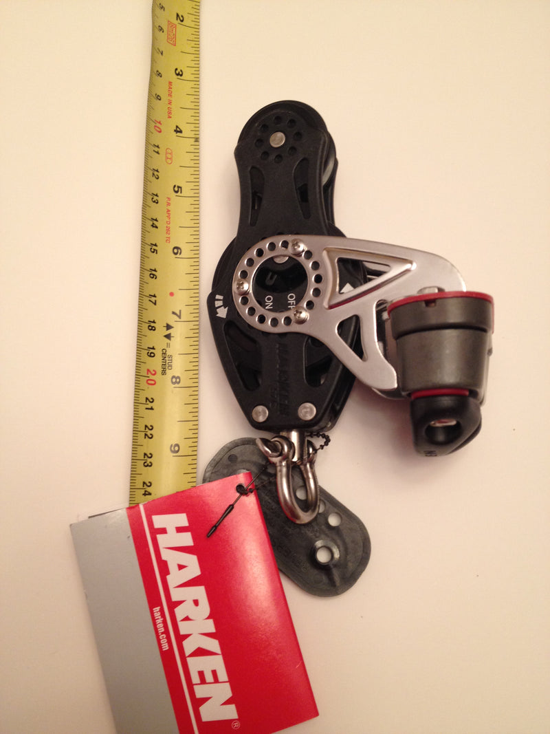 Harken Carbo Airblock Fiddle Rachet with Cam cleat 2675