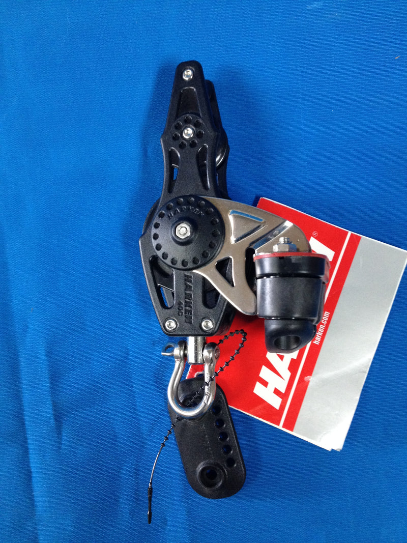 Harken Carbo Airblock Fiddle 40 mm with cam and becket