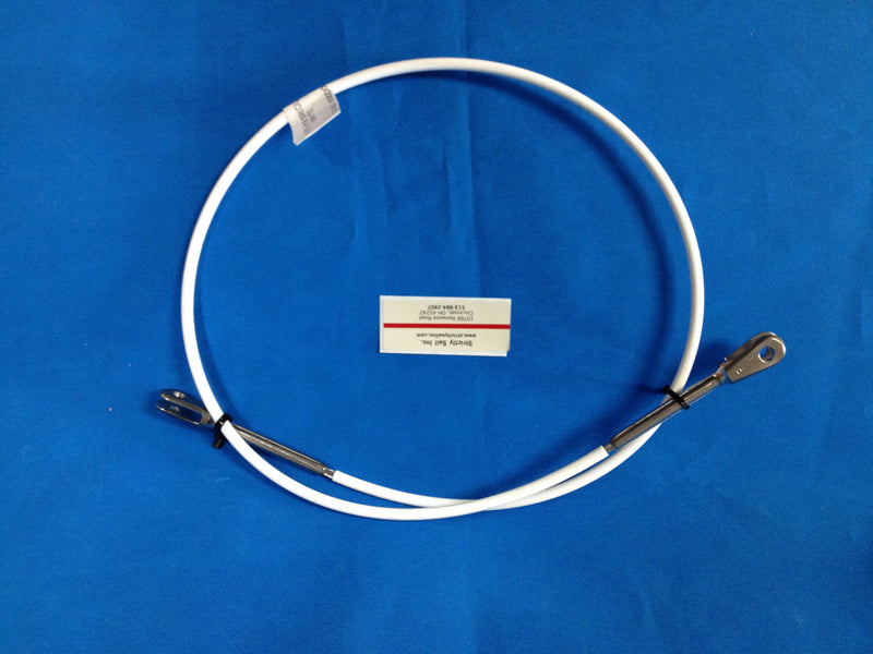 Hobie Cat 18 White Coated Bridle Wire Factory original equipment