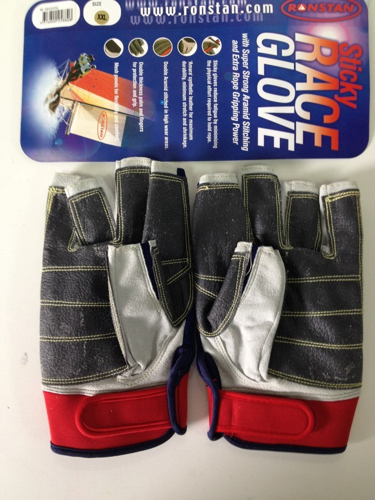 Ronstan Sailing Gloves Sticky Race Gloves Size XXL