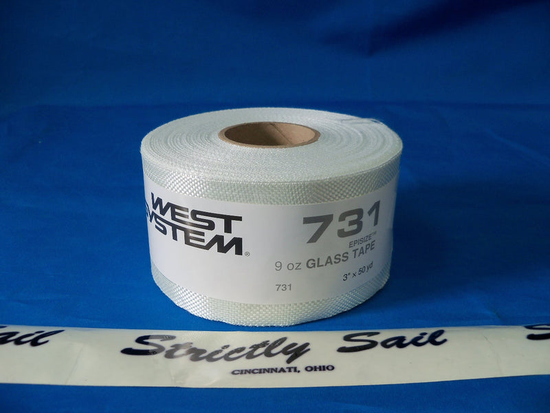 "West System 731, 9 oz. Glass Tape, 3"" x 50 yd."