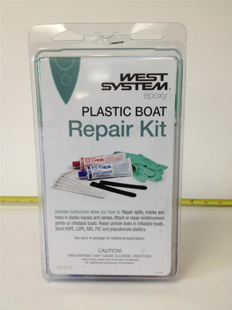 West System G Flex Thickened Epoxy Plastic Boat Repair Kit 655-K 655k