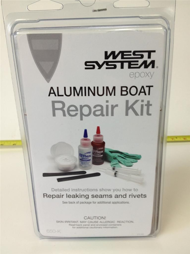 West system Aluminum Boat Repair Kit 650-K