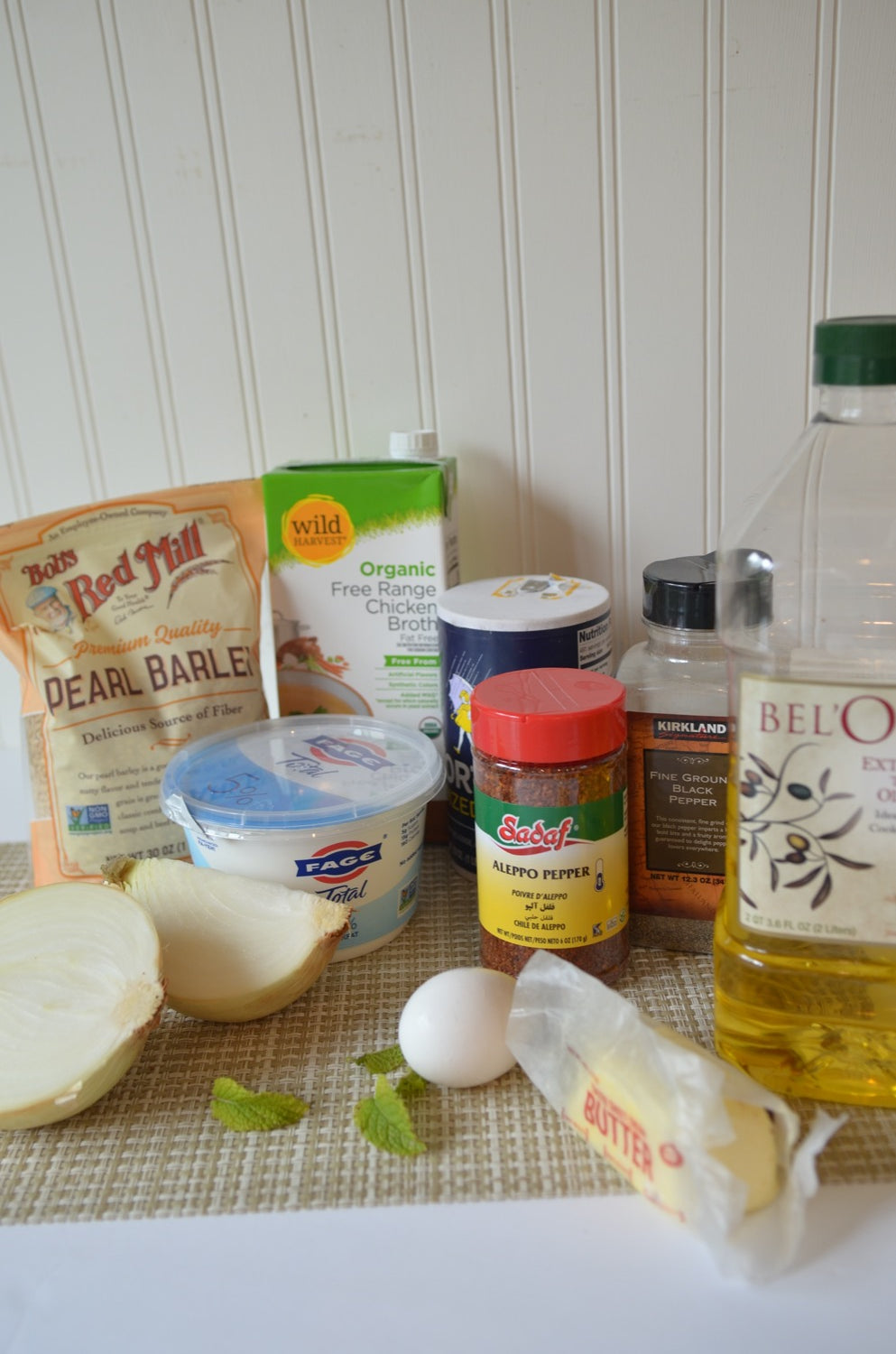 Ingredients for Spas Soup