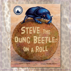 Steve The Dung Beetle On A Roll