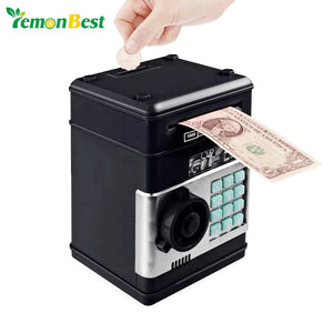 Stylish Electronic ATM Mini Password Money Box Piggy Bank