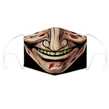 Load image into Gallery viewer, Halloween The Nightmare Before Christmas V Scary It Cosplay Face Mask Adult Dust Protection Masks Prop