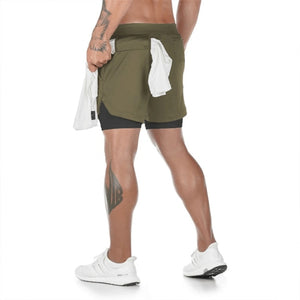 MAX TRAINING 2-IN-1 SHORTS