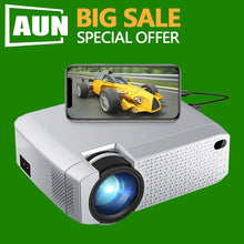Load image into Gallery viewer, AUN MINI Projector Phone Wireless Sync Display HDMI