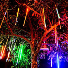 Load image into Gallery viewer, 30CM Meteor Tube LED Meteor Shower Rain Tubes Christmas Decorative Lights LED Beautiful Wedding Party Garden String Light