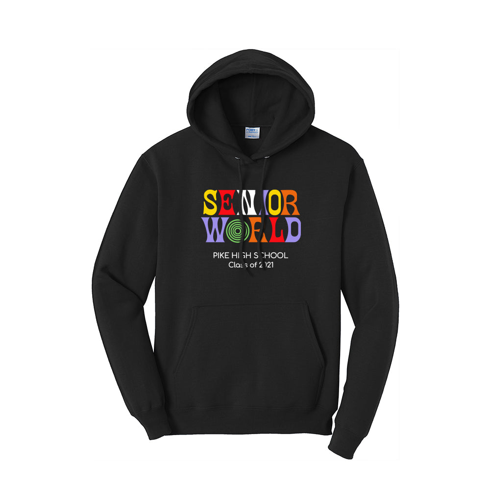 Port & Company Core Fleece Pullover Hooded Sweatshirt - Senior World