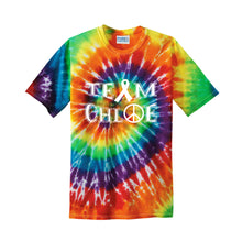 Load image into Gallery viewer, Team Chloe - Port & Company Tie-Dye Tee