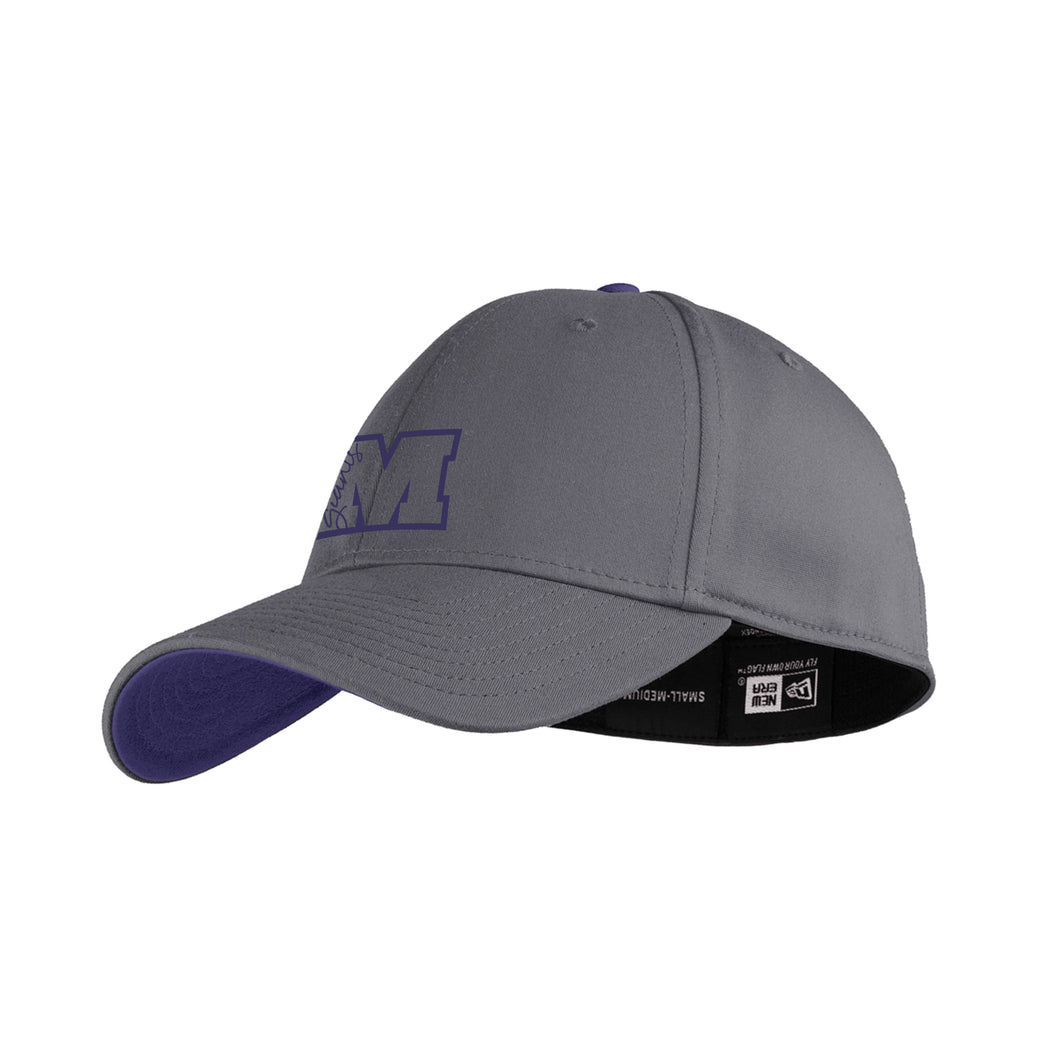 New Era Fitted Cap - M Script