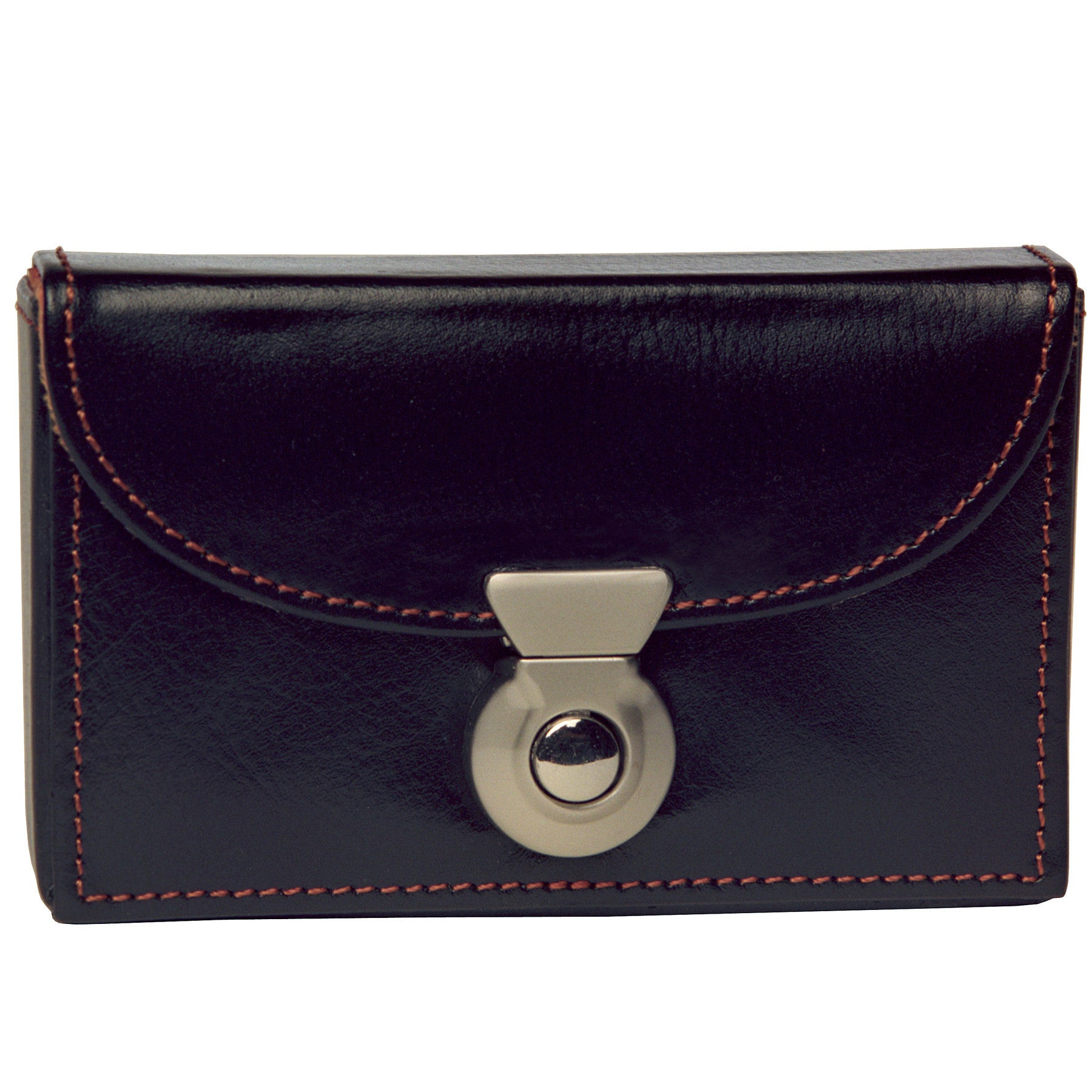 Alicia Klein leather card holder, black