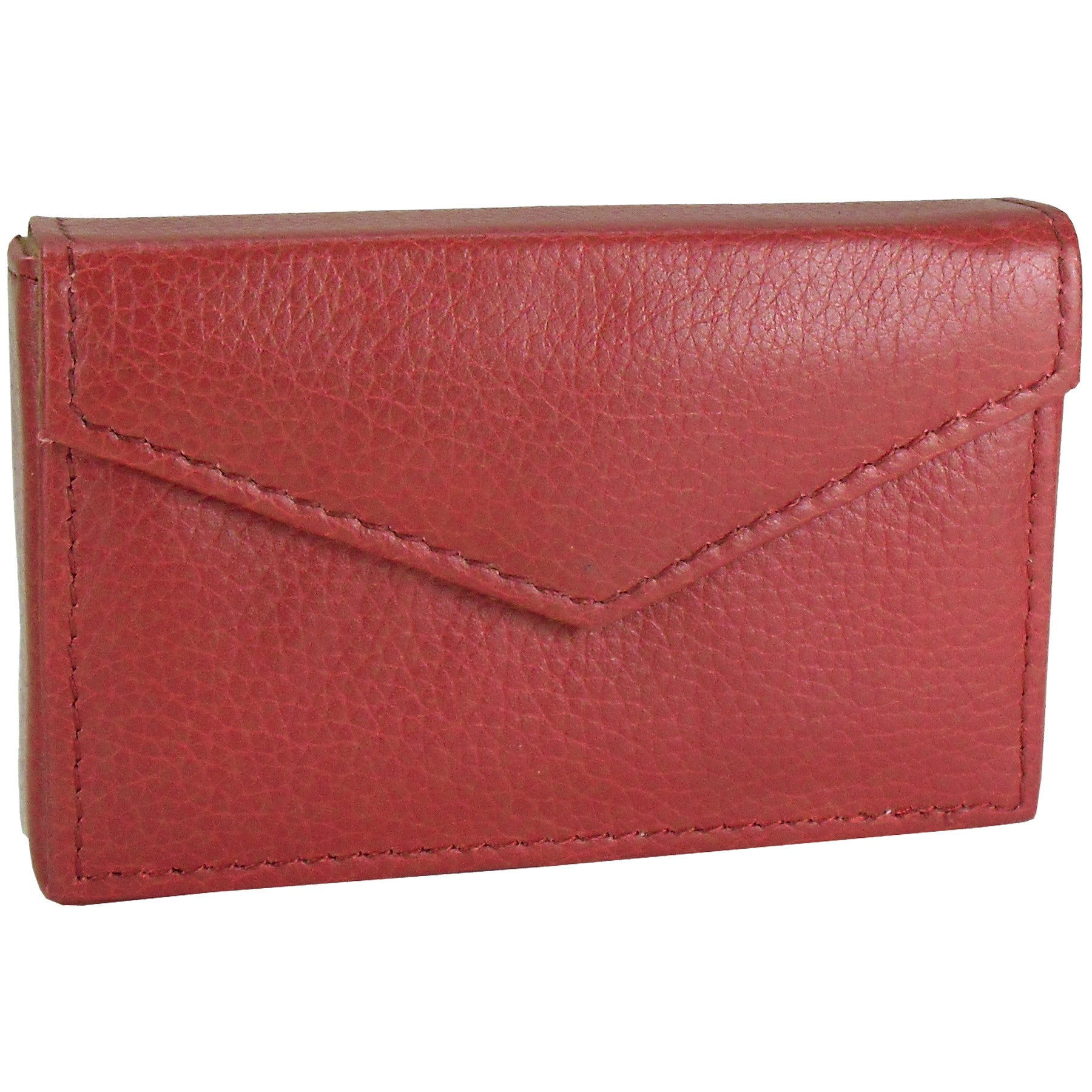 Alicia Klein leather card holder, red