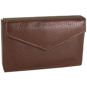Business card envelope rich brown alicia klein taxi wallet alicia klein leather card holder rich brown reheart