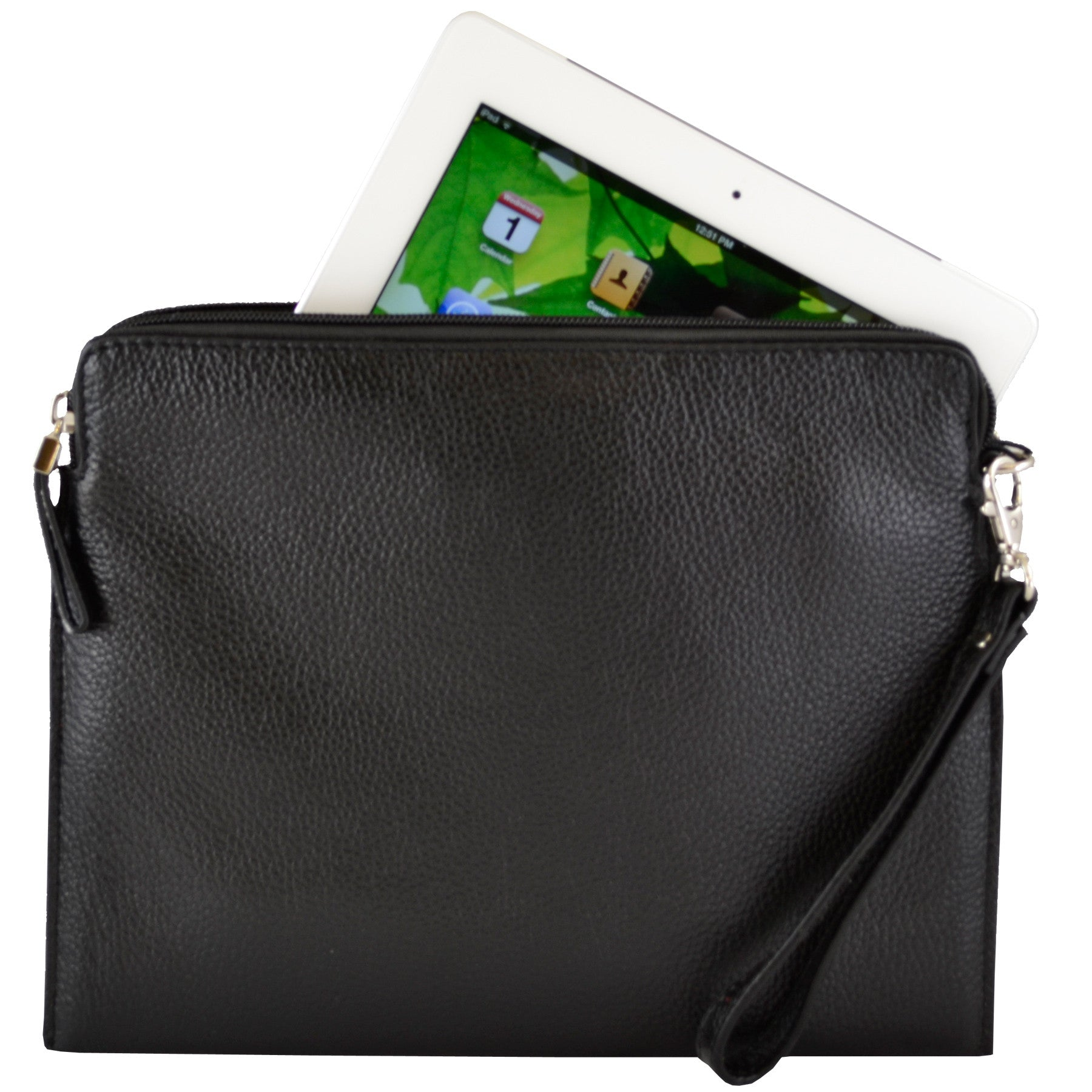 Tablet Sleeve/Wristlet - Black