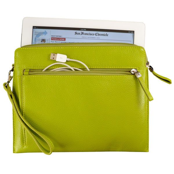 Tablet Sleeve/Wristlet - Lime