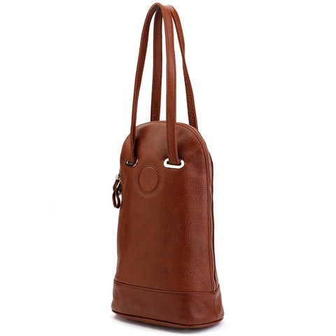 Two-Bottle Wine Carrier - Brown