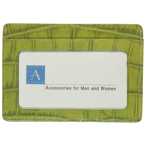 Business Card with Window - Turtle Green