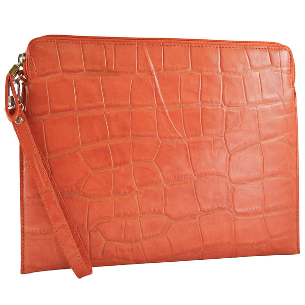 Tablet Sleeve/Wristlet - Cayenne