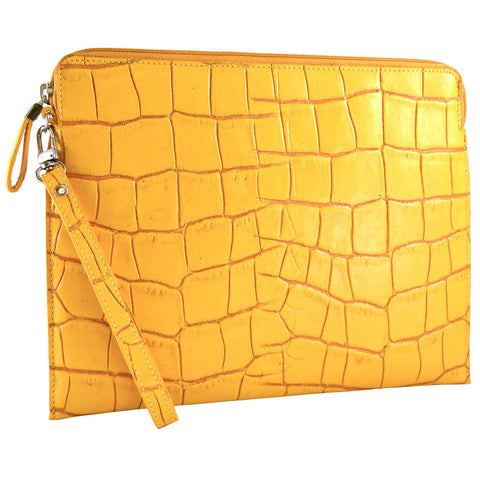 Tablet Sleeve/Wristlet - Saffron