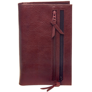 Tour One Passport Wallet - Cocoa Brown Italian Leather