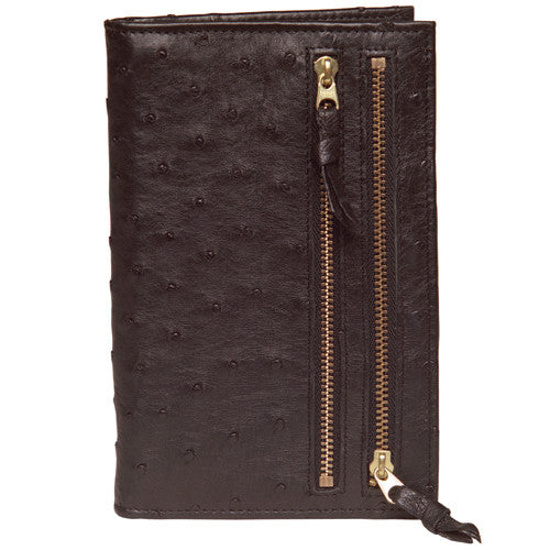 Tour One Wallet - Ostrich Black