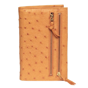 Tour One Wallet - Ostrich Tan