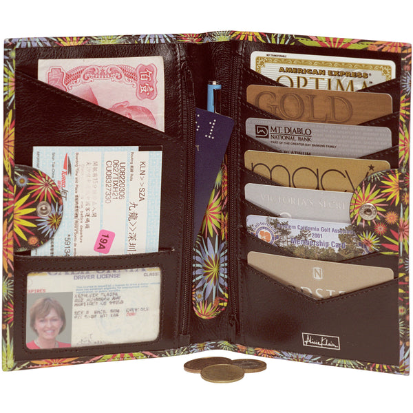 Tour One Passport Wallet - Betty Leather Imagery