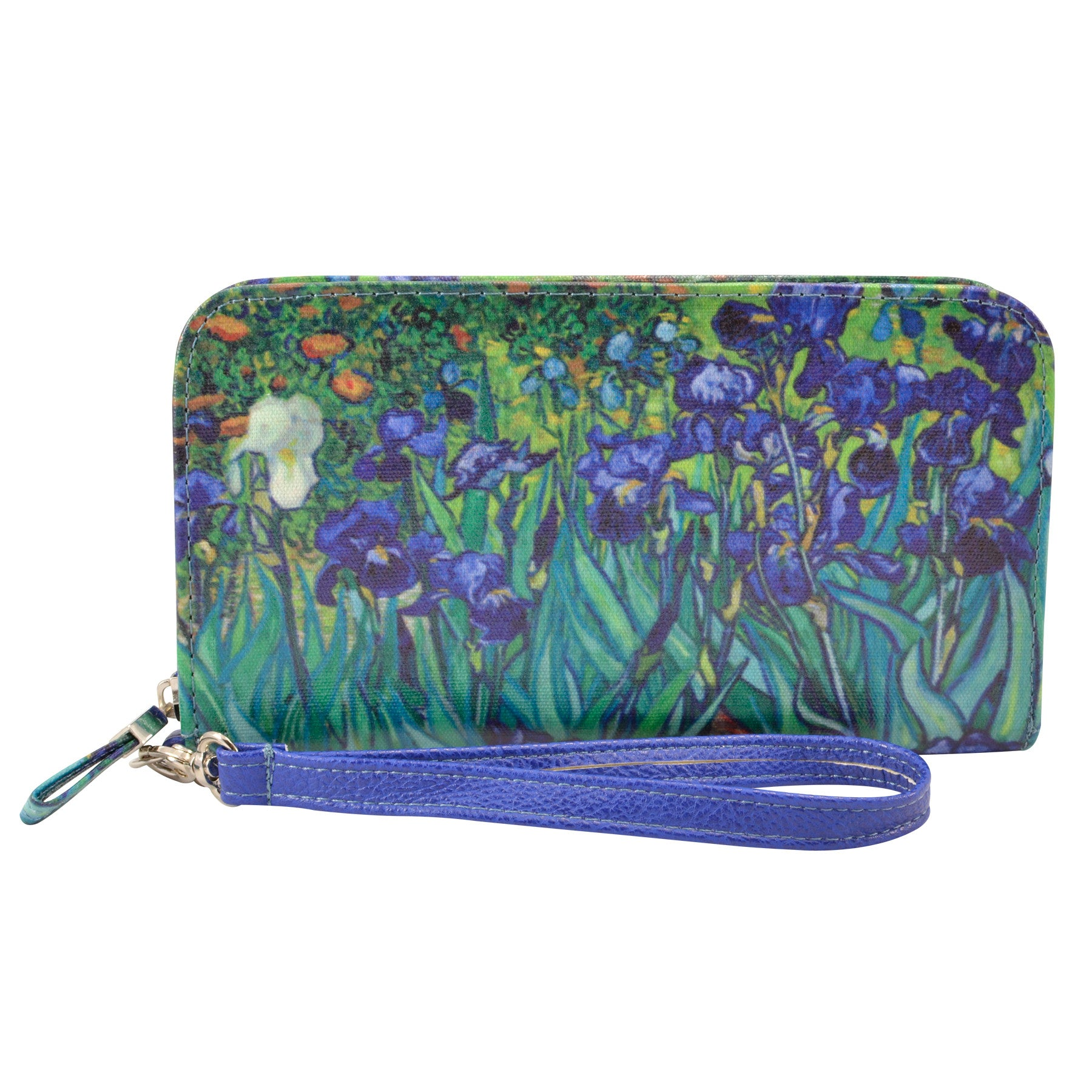 Alicia Klein womens vegan wallet, Irises