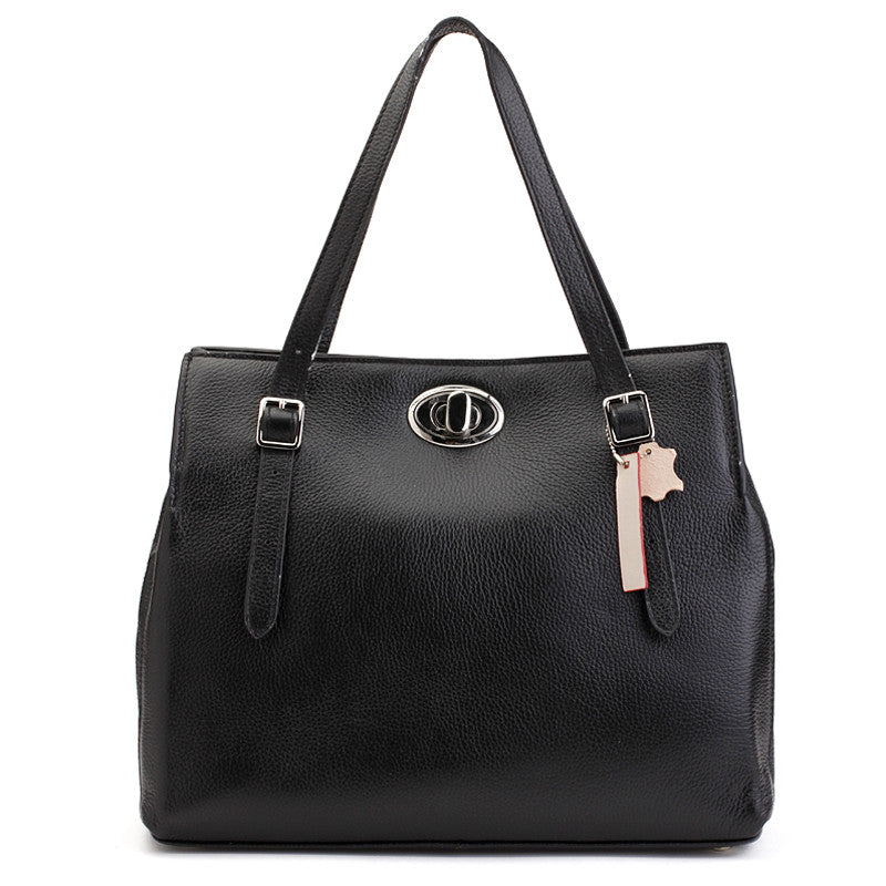 Alicia Klein leather handbags, Hope Bag, black