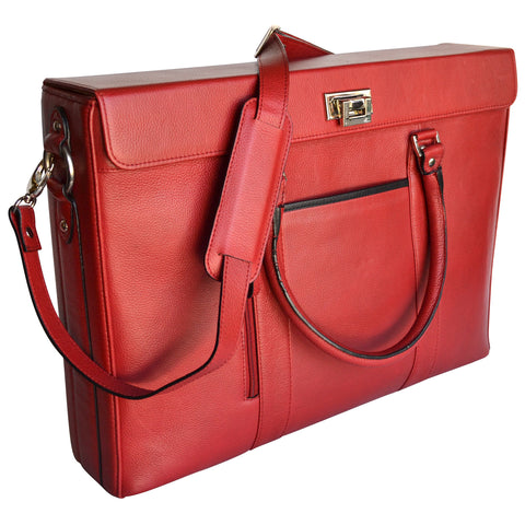Hollywood Laptop Tote - Red