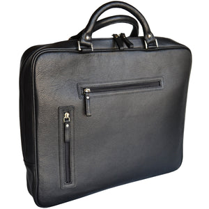 Slim Laptop Brief - Black