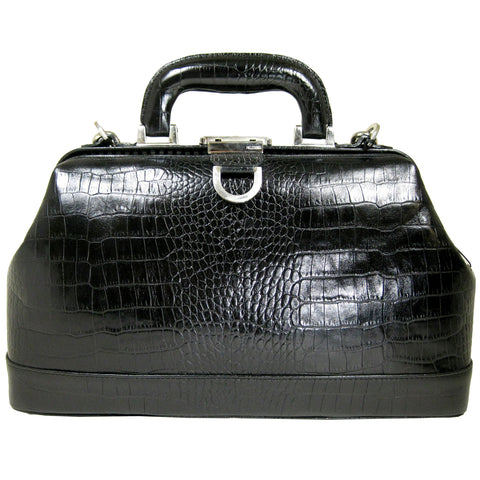 Gayle Jr Bag - Black Croco