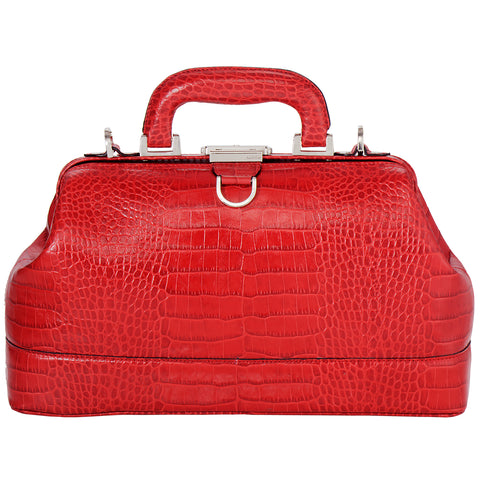 Gayle Jr Bag - Red Croco