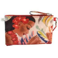 Alicia Klein double zipper bag, Gifts of the Sea, back view