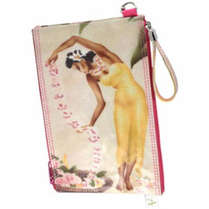 Double Zipper Pouch - Island Girls