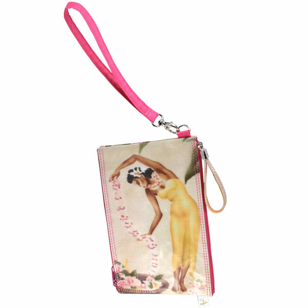 Alicia Klein double zipper bag, Island Girls