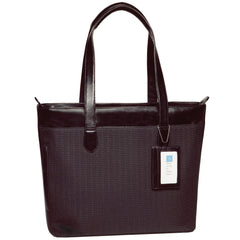 Alicia Klein sale laptop bags, Jackie Briefcase, Shadow Black